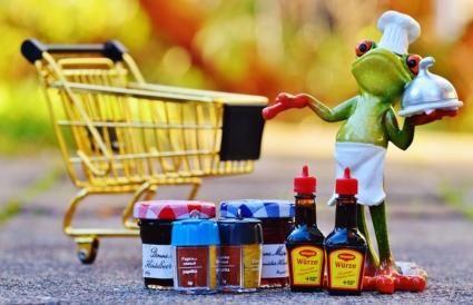 einkaufen-mit-einem-trolley