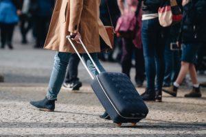 Koffer mit zwei Rollen