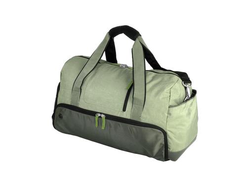 Grüne Reisetasche
