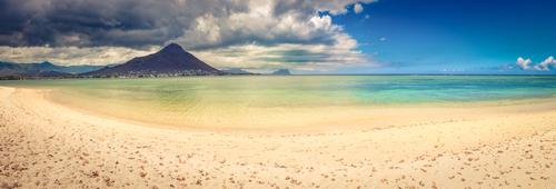 Strandurlaub mit Meerblick