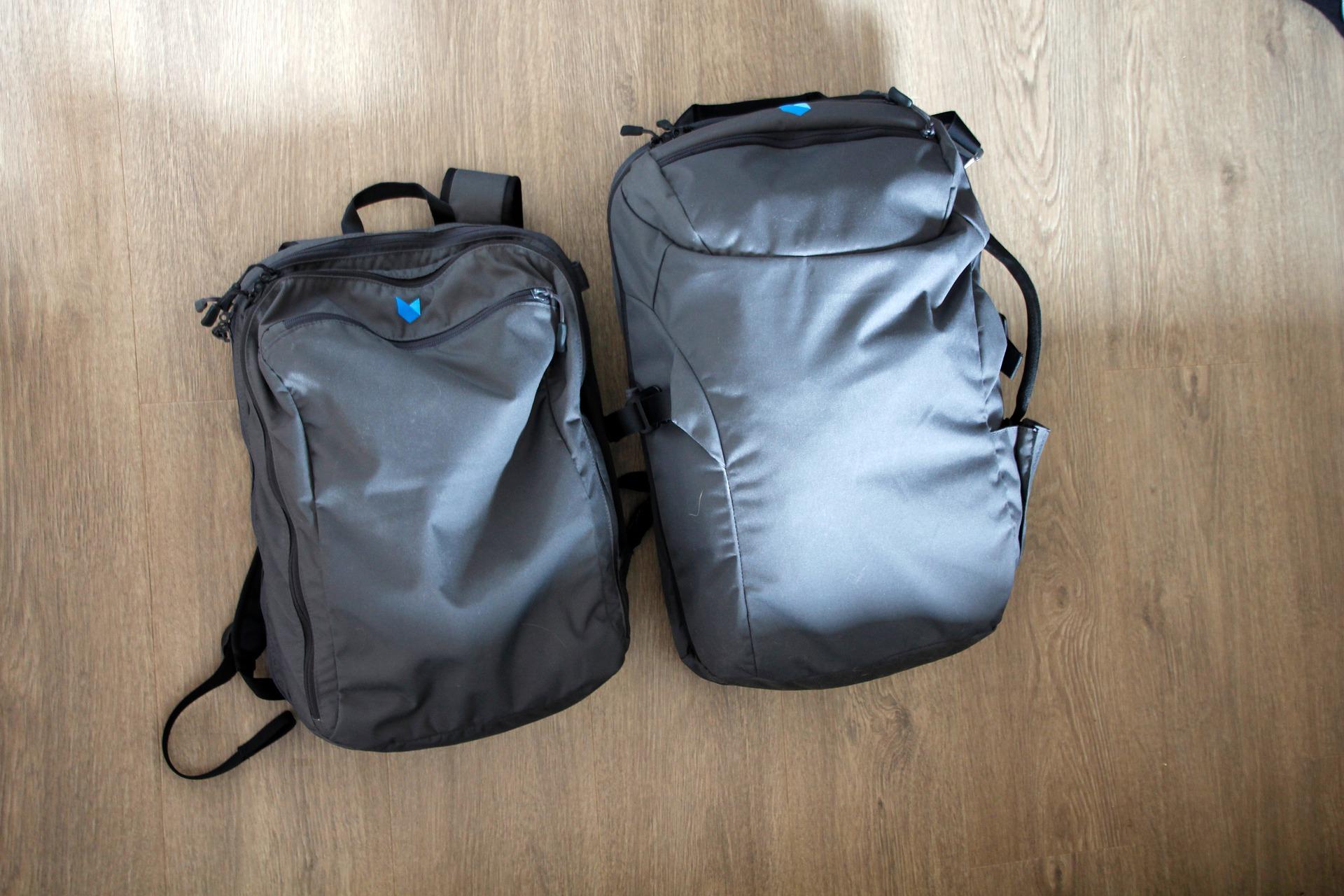Der Rucksack ist das beliebteste Handgepäck für Flugreisende.